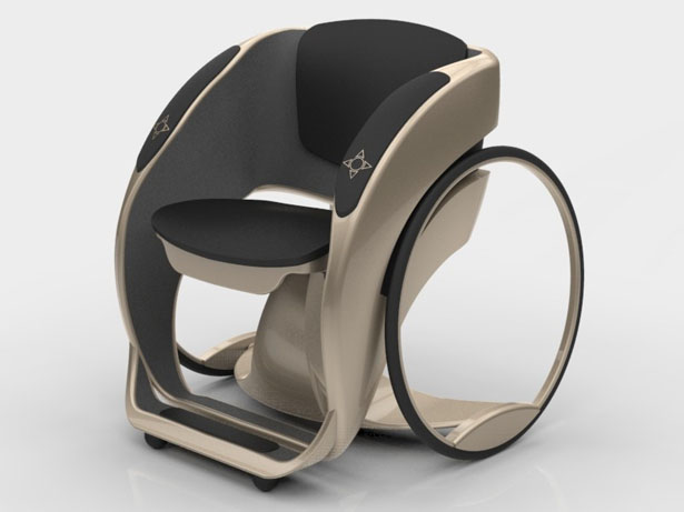 Wheelchair Design by Ada Design Studio