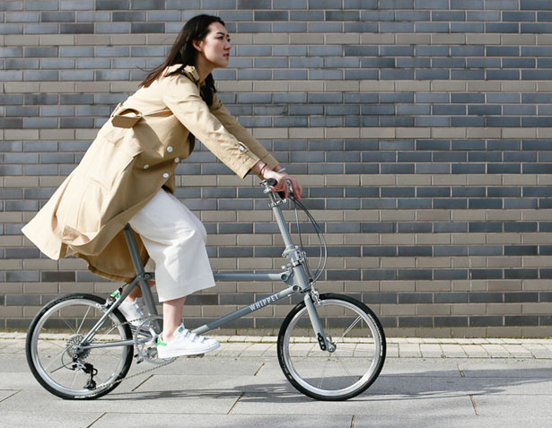 Whippet Bicycle – Lightweight Folding Bike with Low Step Over Height