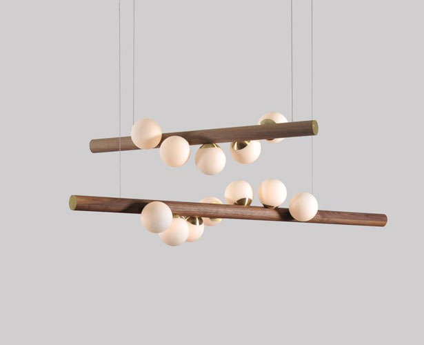 Willow Pendant Caterpillar Crawl Light by Hollis + Morris