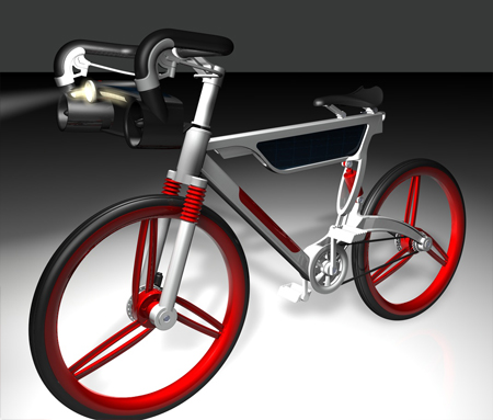 Win-Solar Energy Bike by Chen Chun Tung