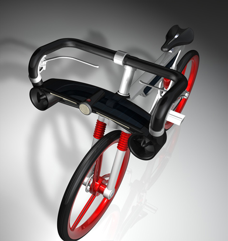 win solar energy bike