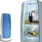 Window Refrigerator : See What's Inside Without Open Your Fridge