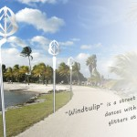 Windtulip : Wind Powered Street Light That Looks Like A Tulip Flower