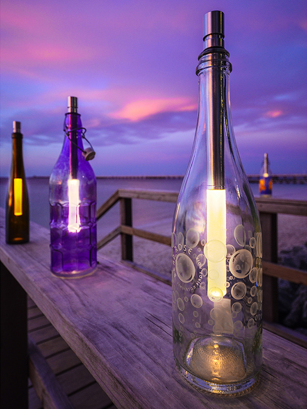 The Wine Bottle Light
