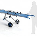 Wish Folding Stretcher Only Needs One Person to Carry