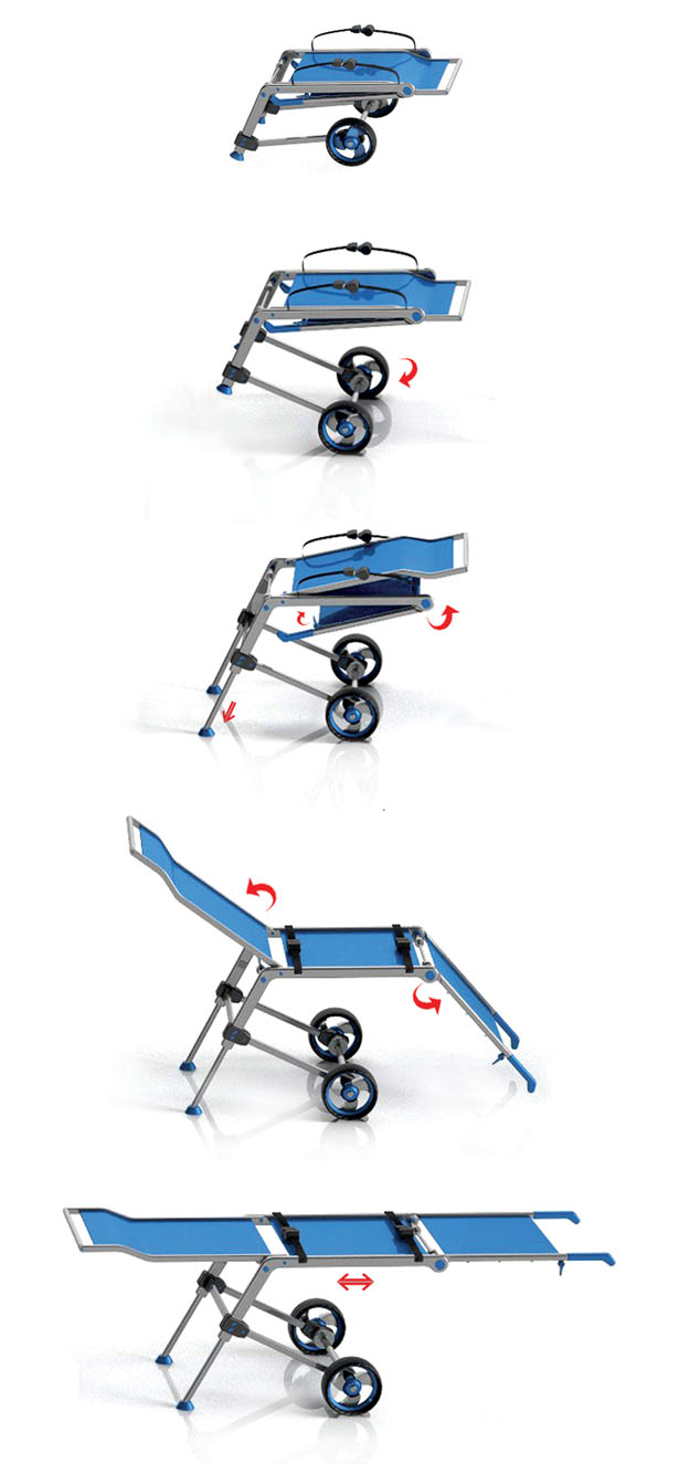 Wish Folding Stretcher by Wang Jizhe
