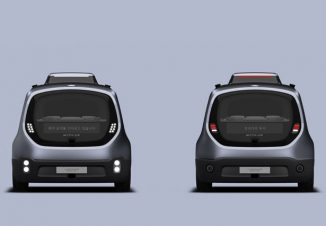 WITH:US – Futuristic Self-Driving Shuttle for Smart City