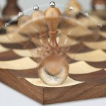 Elegant and Classy Wobble Chess Set by Adin Mumma