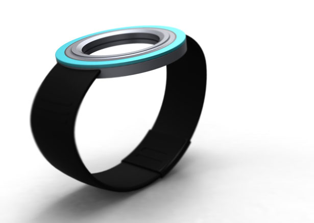 Wolo Holographic Watch by Anurag Sarda
