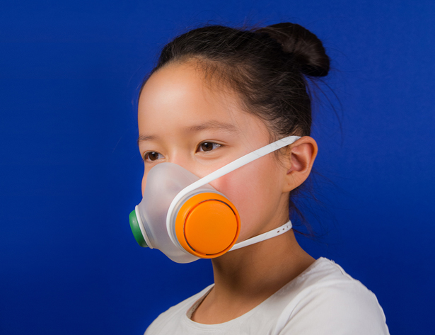 Woobi Play Anti-Pollution Mask for Children by Kilo Design