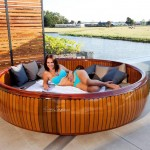 WoodCruise - Outdoor, Rotating Lounge Furniture to Enjoy Sunbathing