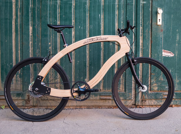 A'Design Award and Competition 2015-2016 Winner - Wooden eBike by Matthias Broda