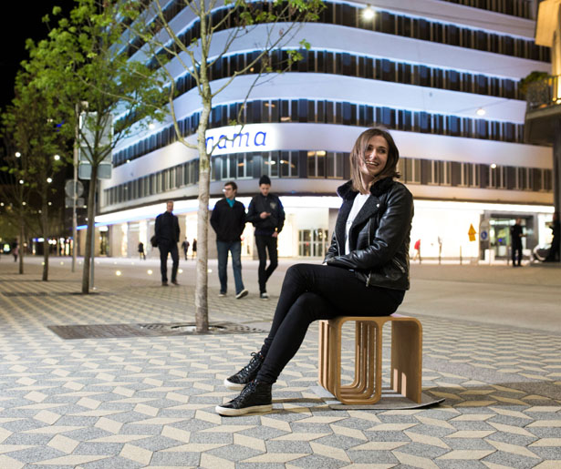 Woodieful Chair - Multifunction, Modern Slovenian Designed Furniture