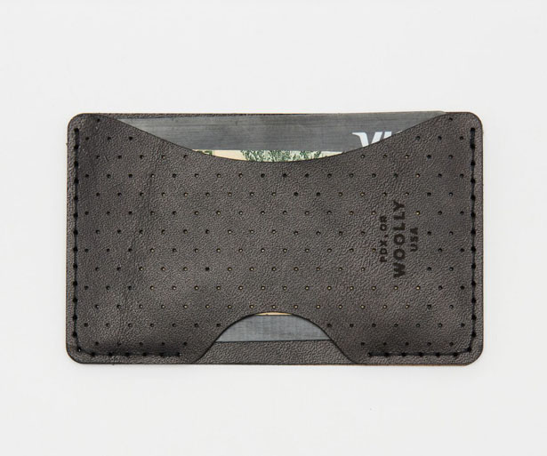 Wolly Made Ultra-Thin Leather Phone Wallet