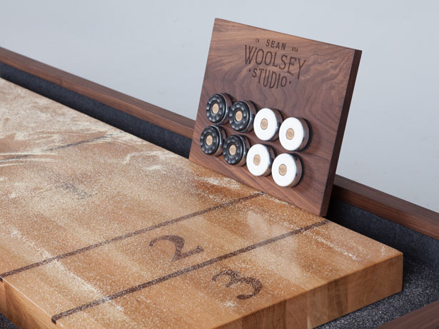 Woolsey Shuffleboard Table by Sean Woolsey