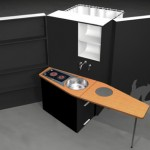WoonBox : A Shower, Toilet, and A Kitchen in A Box