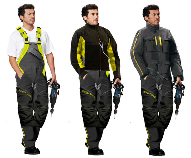 Workwear for Roofing Works by Motion Code Blue