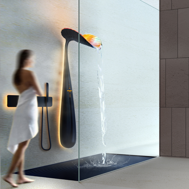 Ora Shower panel by Vladimir Polikarpov - A' Design Award and Competition 2018