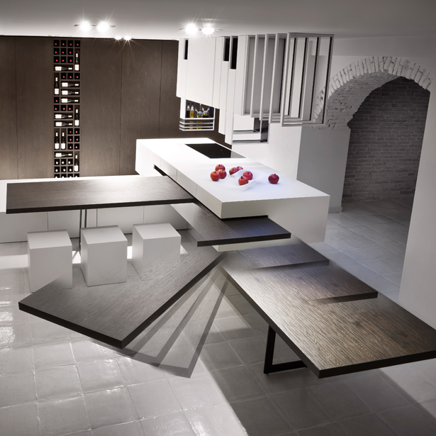 The Cut Kitchen by Alessandro Isola