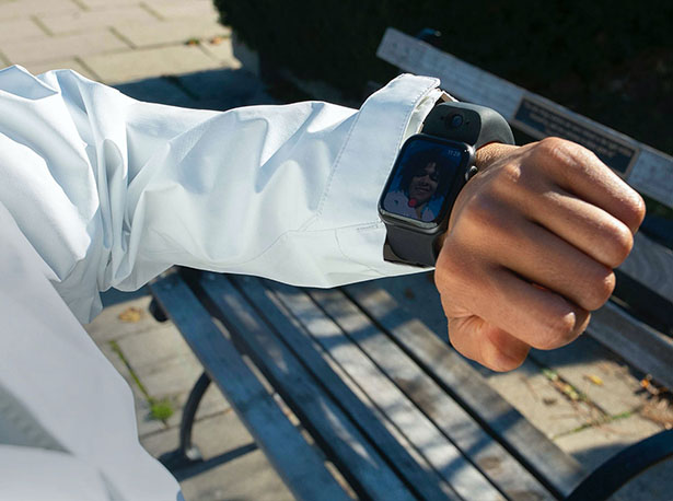 Wristcam - Exclusive Wearable Camera for Apple Watch