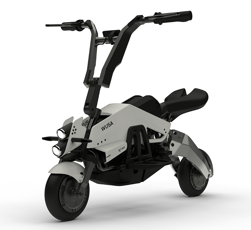 Wusa Electric Personal Mobility by Anri Sugihara