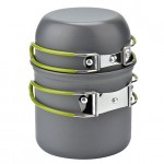 Wuudi Outdoor Camping Cookware In One Compact Form