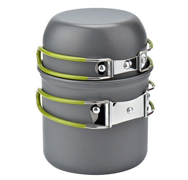 Wuudi Outdoor Camping Cookware Pots and Pans