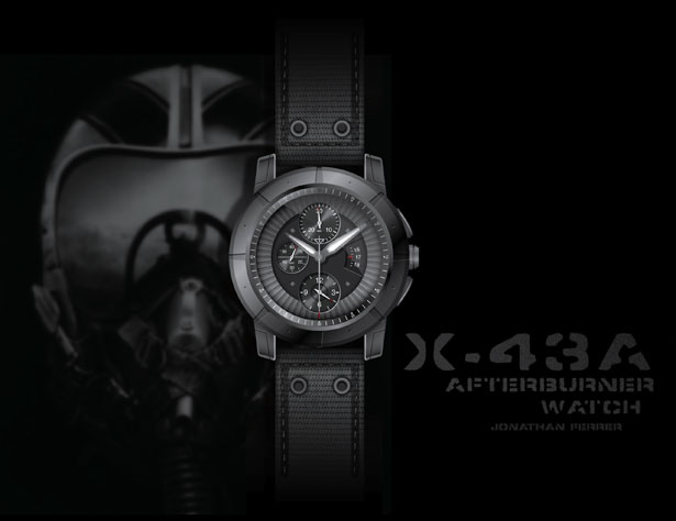 X-43A Afterburner Watch by Jonathan Ferrer