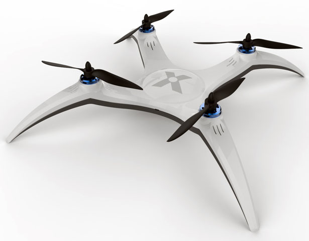 X-Drone Quadcopter Concept Development by Avi Cohen