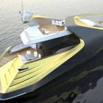 X-Sym 125 Yacht With Asymmetrical Design and Exclusive Curves by S-Move Design