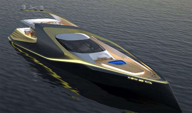 X-Sym 125 Boat by Smove Design