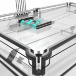 X1 Everest : Modern Transparent Pool Table Features Vitrik Transparent Playing Surface