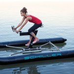 X1 Water Bike With Inflatable Pontoons for Easy Transport