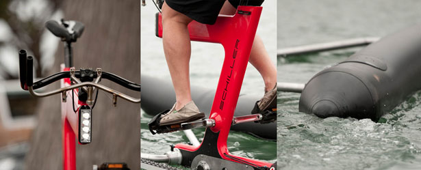 X1 Water Bike by Schiller Bikes