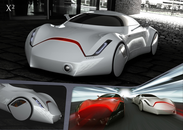 X2 concept car by Yeon-Wu Seong
