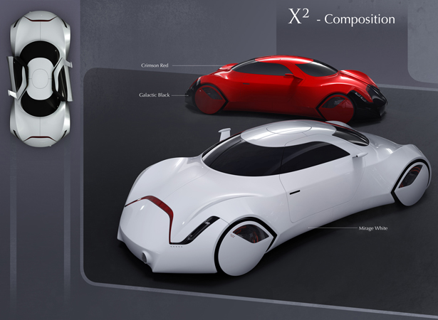 X2 Car Concept by Yeon-Wu Seong