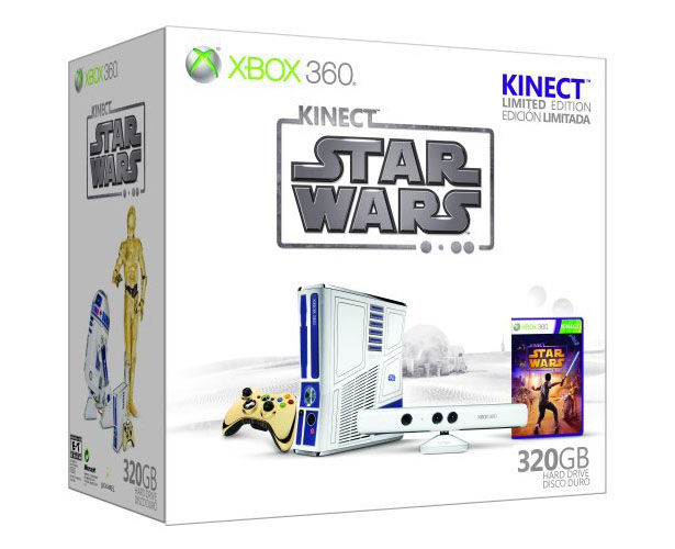 Limited Edition Xbox 360 Kinect Star Wars