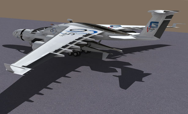 XGV : XLDron Global Versatile Unmanned Aircraft by Oscar Vinals