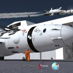 XLDron Versatile Earth Window (EW) : The Vision of Future Space Tourism by Oscar Vinals