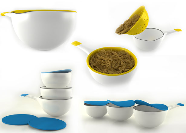 XO Project Extraordinary Kitchenware by Fatih Aslantas
