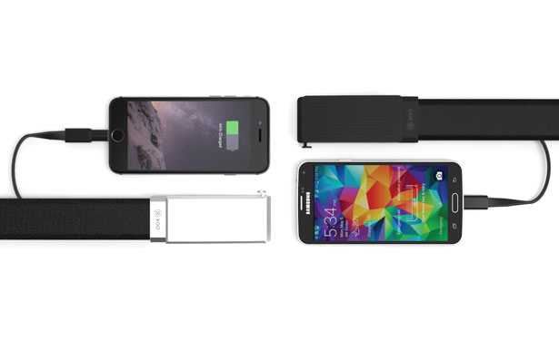 XOO Belt Functions As Emergency Charger to Re-charge Your Phone by Nifty