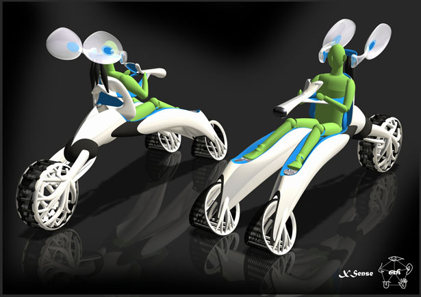 XSense Futuristic Personal Vehicle