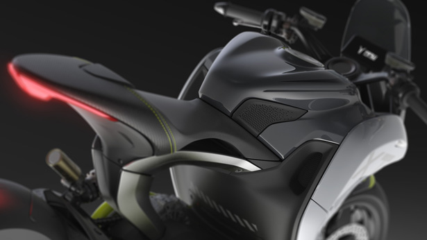 XT Concept Electric Motorcycle by Teodoro Ragazzi