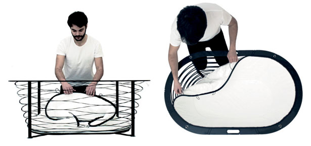 XTEND Portable Bathtub by Carina Deuschl