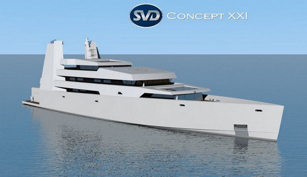 XXI Yacht Concept by SVDesign