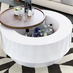 Ya Ya Round Storage Coffee Table by Lenny Kravitz