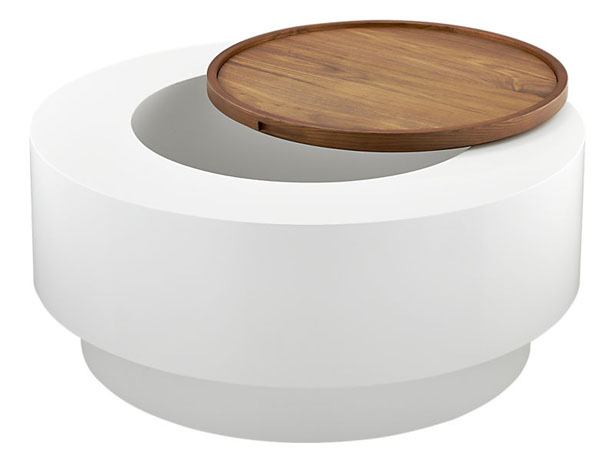 Ya Ya Round Storage Coffee Table by Lenny Kravitz for CB2
