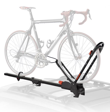 yakima frontloader convenient and functional cartop bike rack