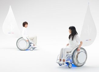 Yamaha &Y01 a.k.a ANDY01 is An Electrically Power-Assisted Wheelchair that Plays Music
