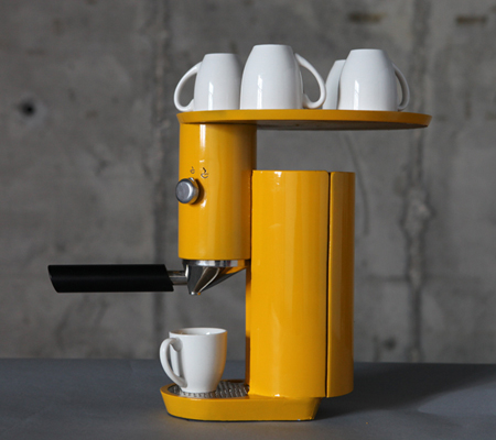 Nespresso : Espresso Machine By Yaniv Berg